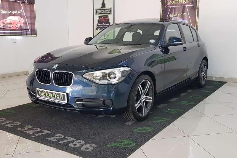 BMW 1 Series 116i 5-door Sport auto 2012
