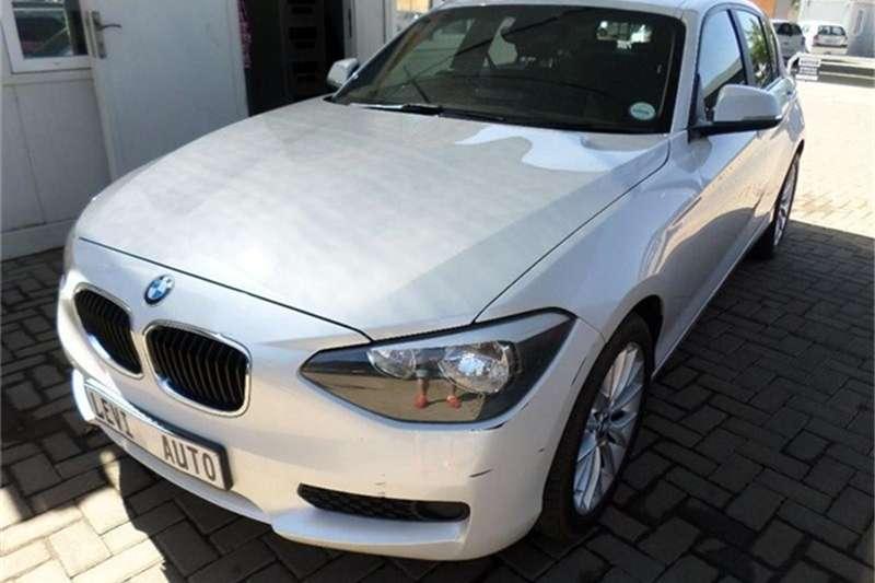 BMW 1 Series 116i 5 door Sport auto 2014