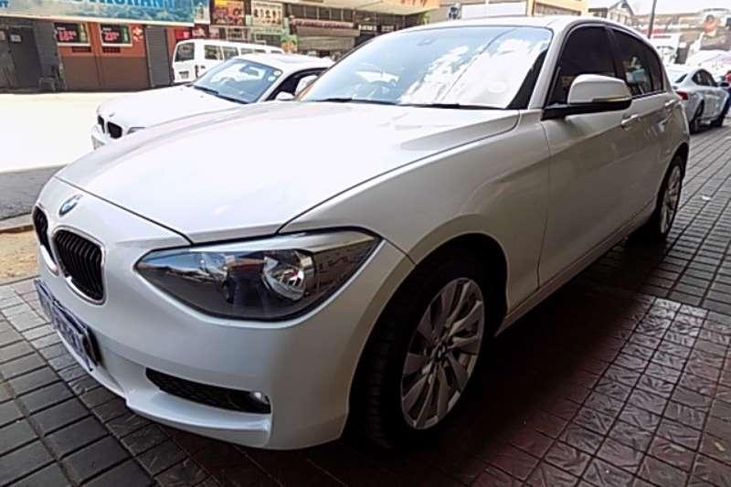 BMW 1 Series 116i 5 door Sport auto 2015