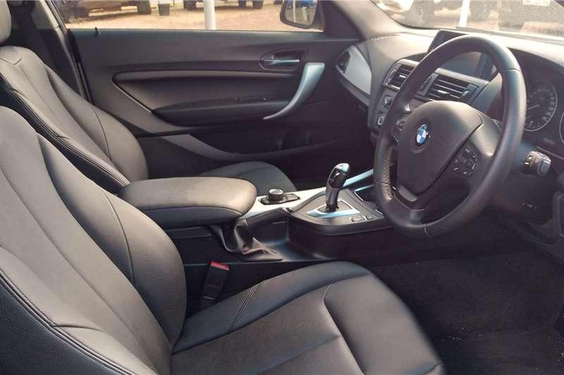BMW 1 Series 118i 3 door Sport auto 2015