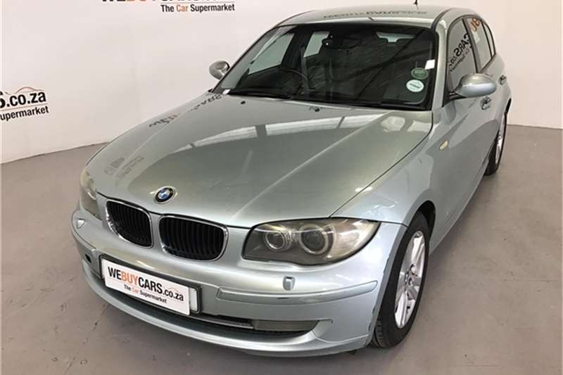 BMW 1 Series 118i 5 door 2008