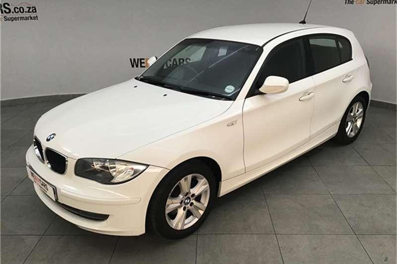BMW 1 Series 118i 5 door 2009