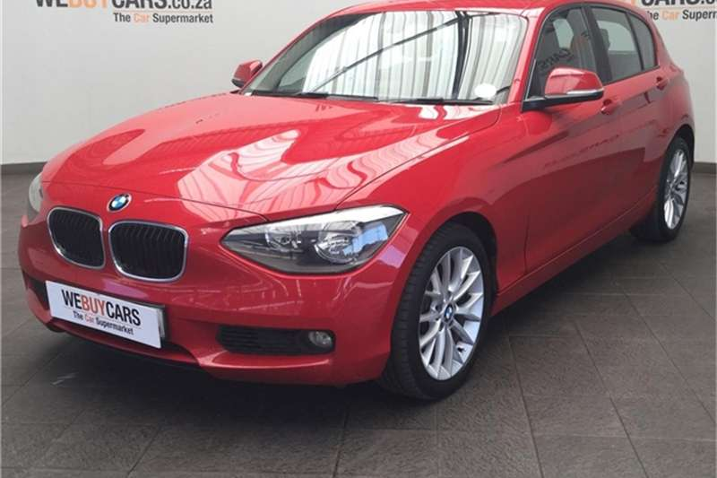 BMW 1 Series 118i 5-door 2013