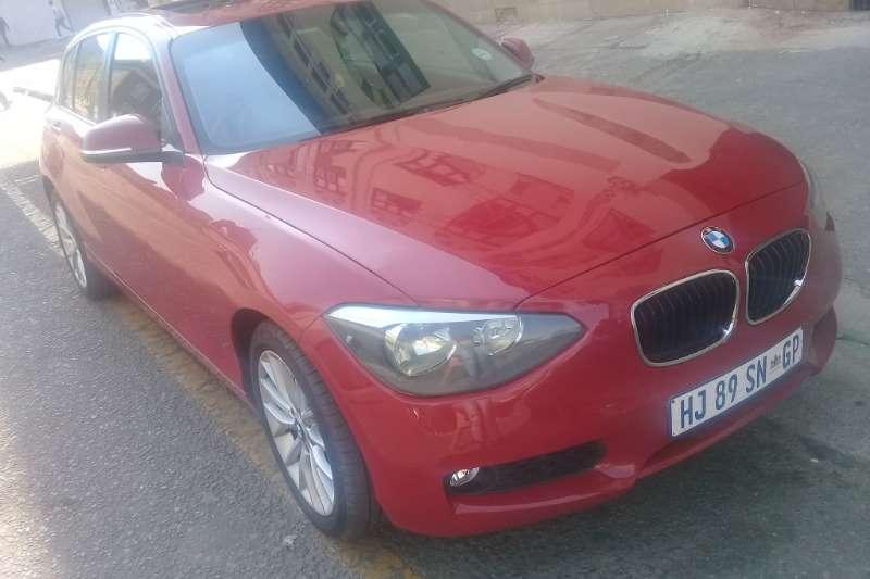 BMW 1 Series 118i 5 door 2014