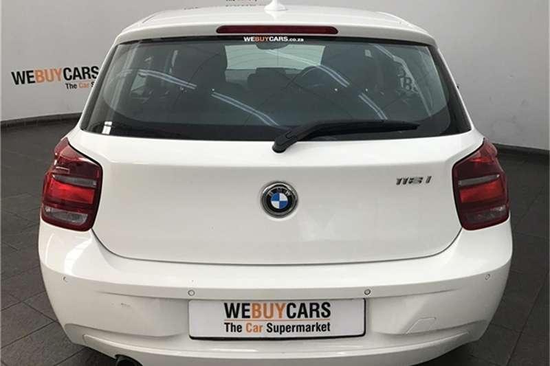 BMW 1 Series 118i 5-door 2014