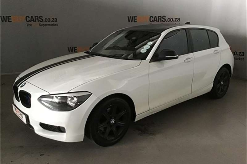 BMW 1 Series 118i 5 door 2014