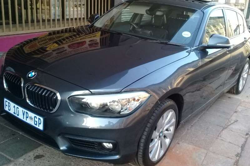 BMW 1 Series 118i 5 door 2017