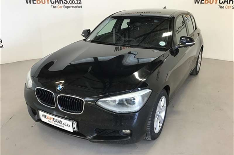 BMW 1 Series 118i 5 door auto 2012