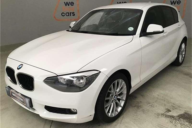 BMW 1 Series 118i 5-door auto 2013