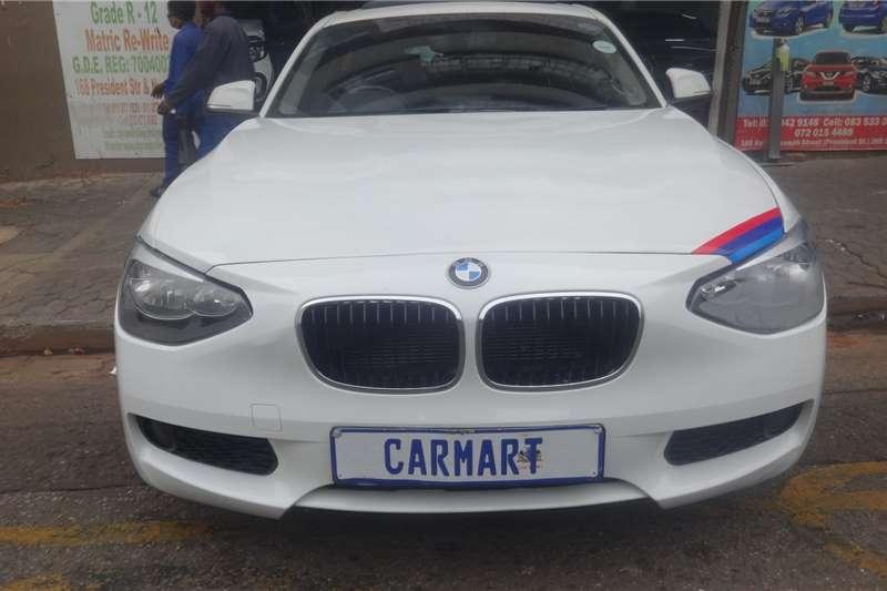BMW 1 Series 118i 5 door auto 2014