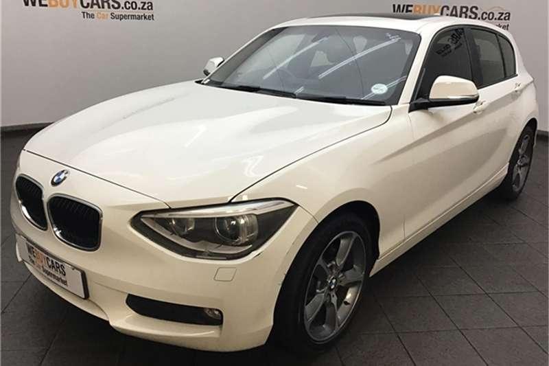 BMW 1 Series 118i 5-door auto 2015