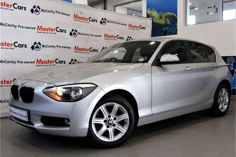 BMW 1 Series 118i 5-door auto 2015