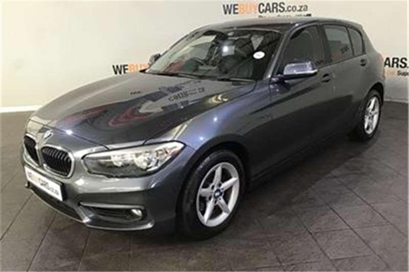 BMW 1 Series 118i 5 door auto 2015
