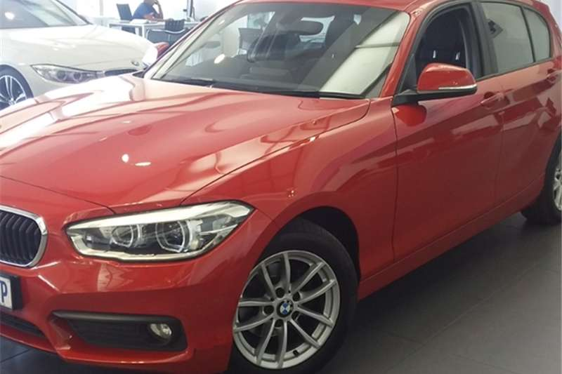 BMW 1 Series 118i 5 door auto 2016
