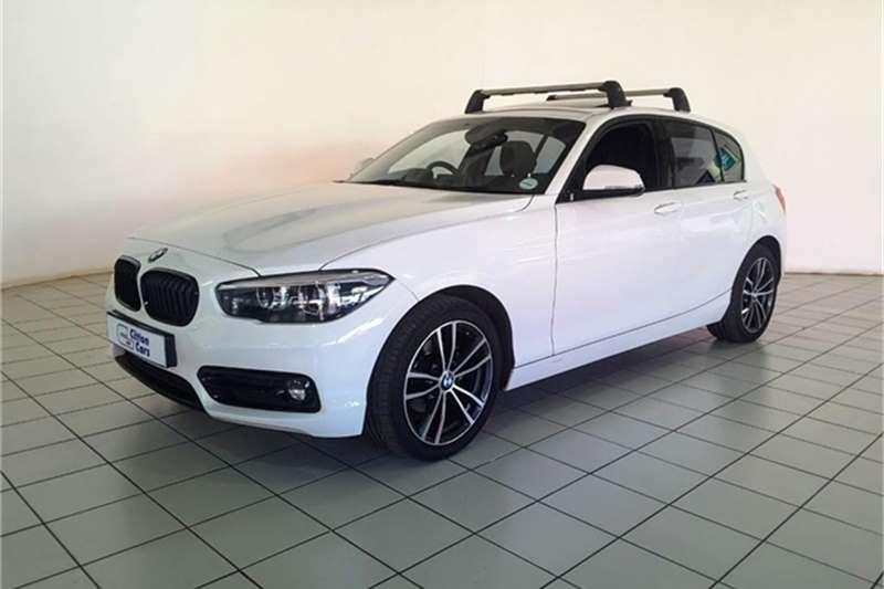 BMW 1 Series 118i 5 door Edition Sport Line Shadow auto 2018