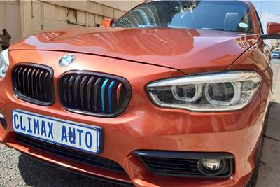2018 BMW 1 Series 118i 5-door Edition Sport Line Shadow auto