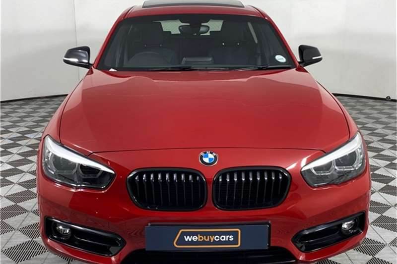 2019 BMW 1 Series 118i 5-door Edition Sport Line Shadow auto