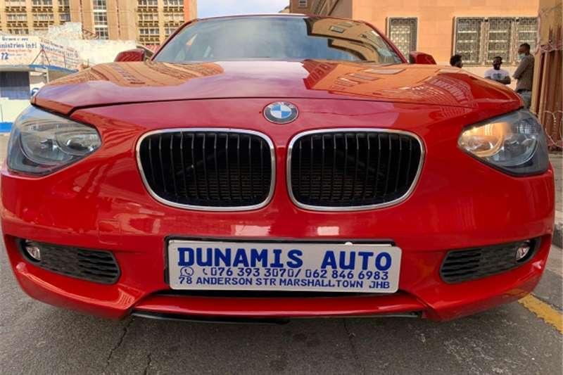 BMW 1 Series 118i 5 door Exclusive 2013