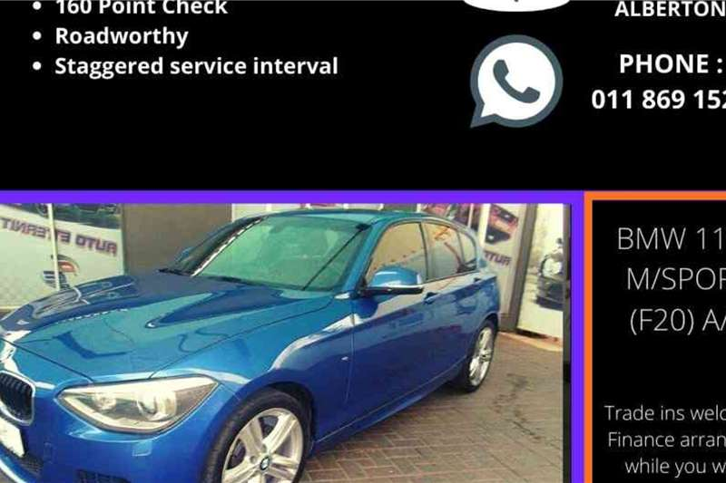 BMW 1 Series 118i 5 door M Sport auto 2015