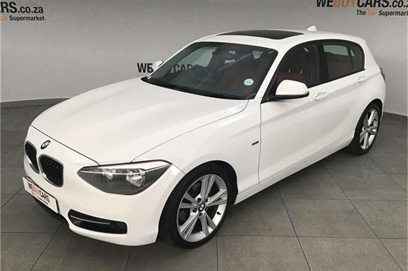 BMW 1 Series 118i 5 door Sport 2011