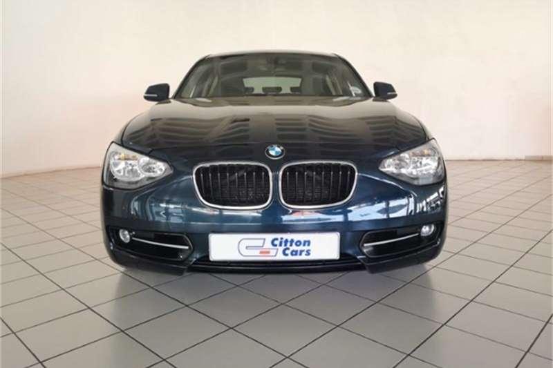 BMW 1 Series 118i 5-door Sport auto 2011