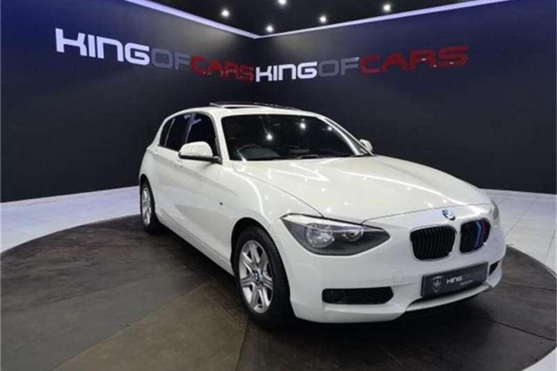 Used 2013 BMW 1 Series 118i 5 door Sport auto