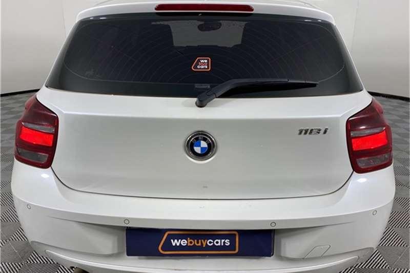 Used 2015 BMW 1 Series 118i 5 door Sport auto