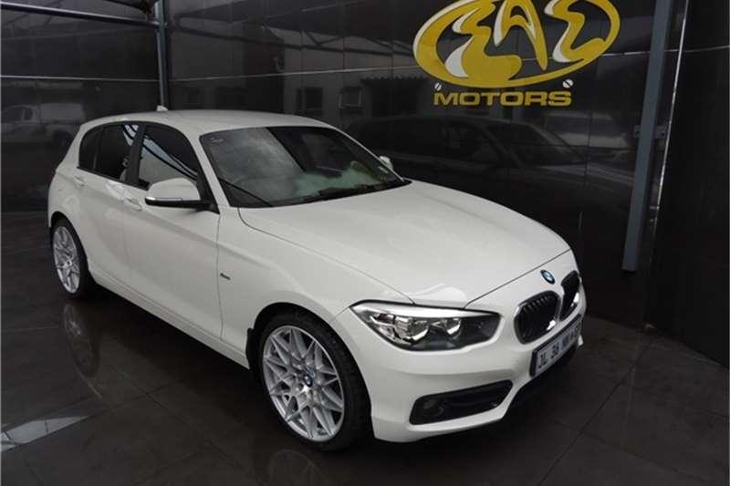 BMW 1 Series 118i 5 Door Sport Line Auto 2015