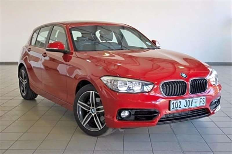 BMW 1 Series 118i 5 door Sport Line auto 2017