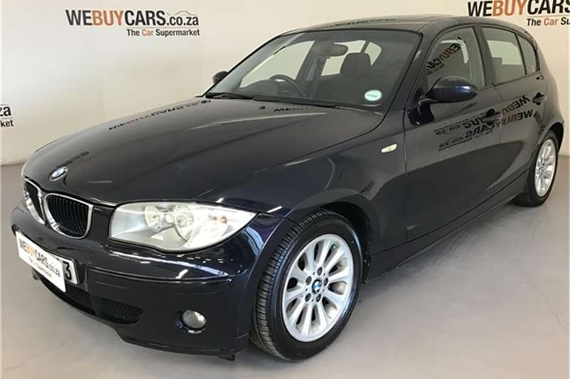 BMW 1 Series 118i 5 door steptronic 2006