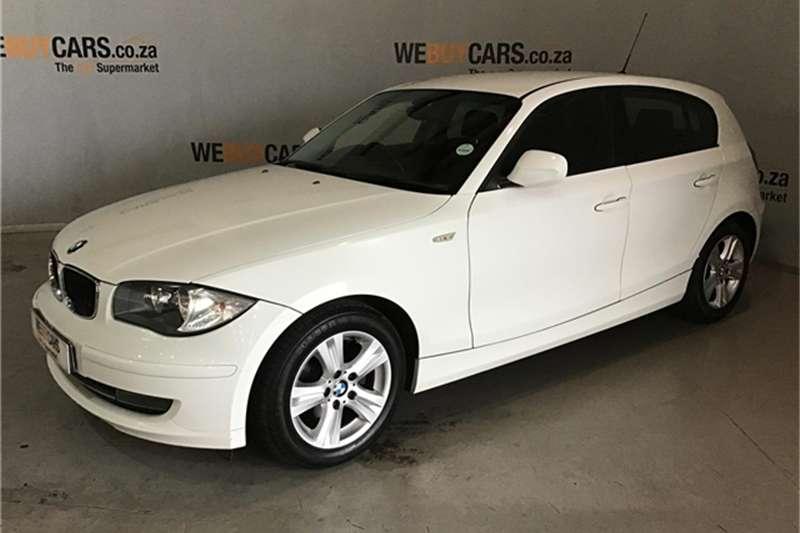 BMW 1 Series 118i 5 door steptronic 2011