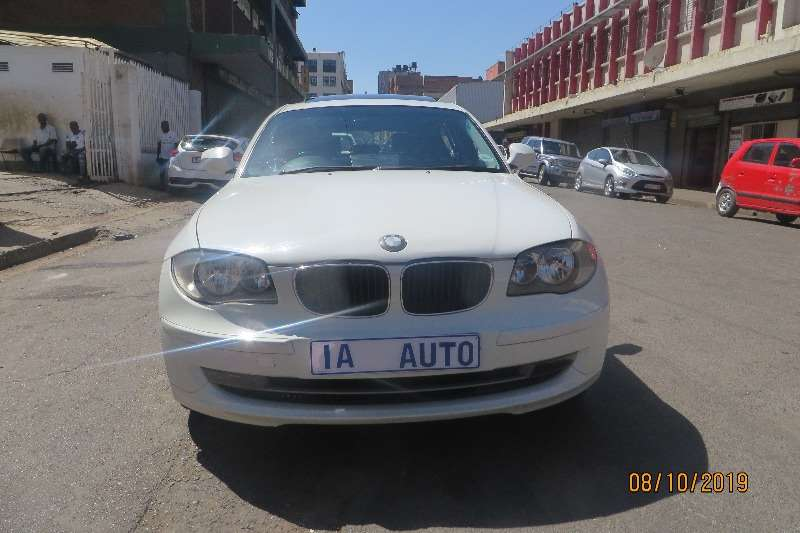 BMW 1 Series 120d 5 door auto 2010