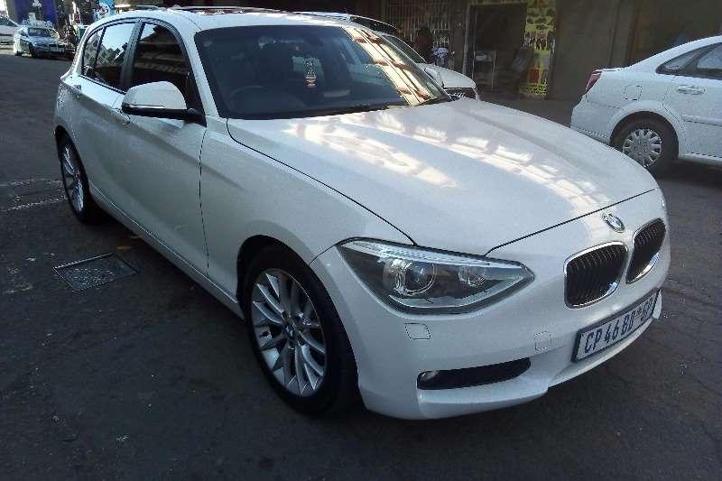 BMW 1 Series 120d 5-door auto 2012