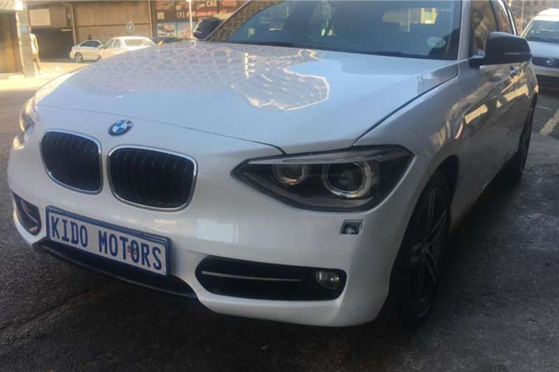 BMW 1 Series 120d 5 door auto 2013