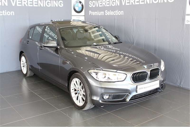 BMW 1 Series 120d 5 door auto 2018