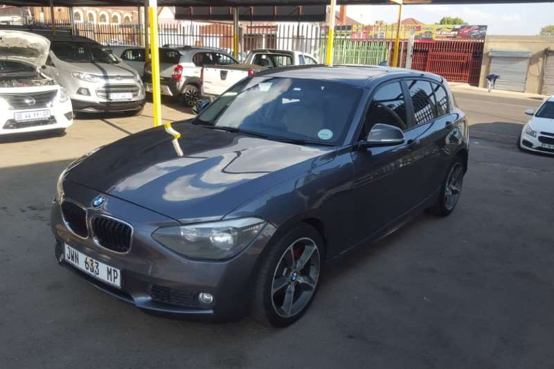 BMW 1 Series 120d 5 door Edition M Sport Shadow auto 2012