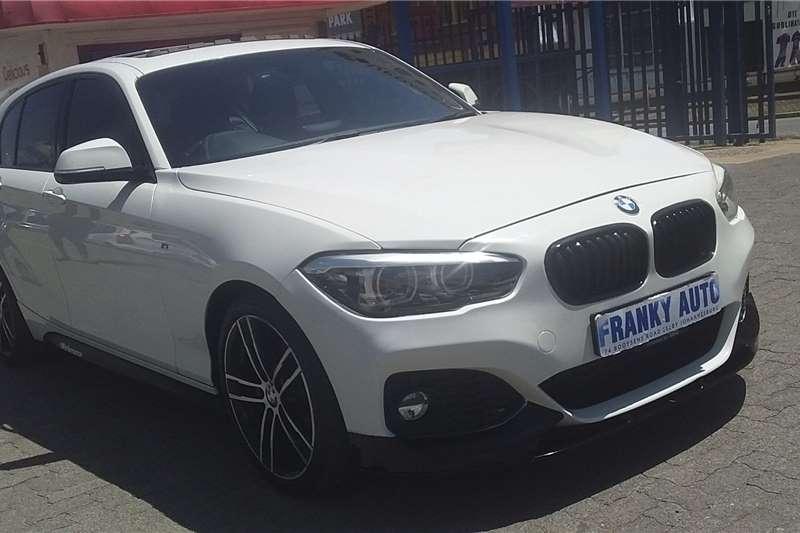 BMW 1 Series 120d 5 door Edition M Sport Shadow auto 2018