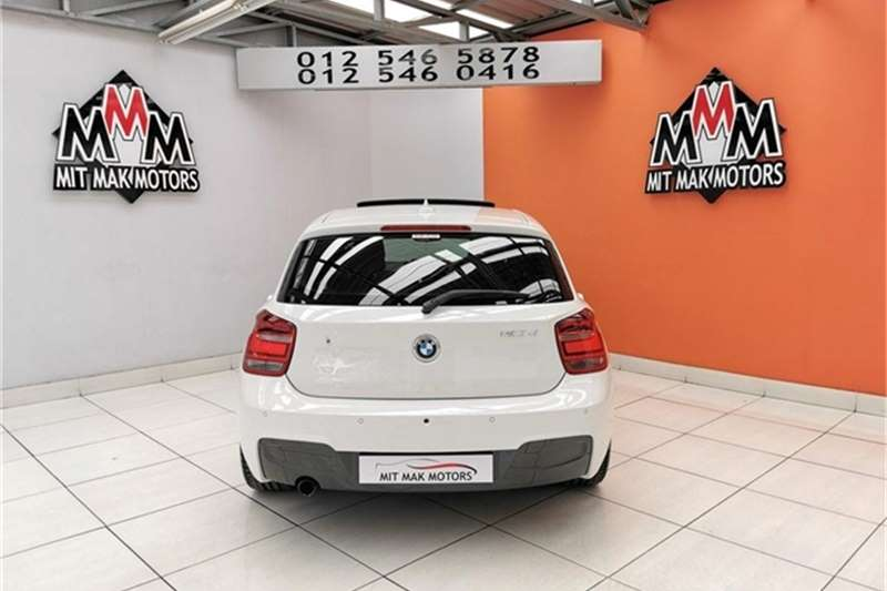 BMW 1 Series 120d 5 door M Sport auto 2014