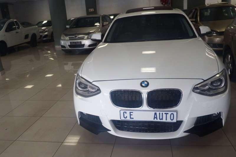 BMW 1 Series 120d 5 door M Sport auto 2015