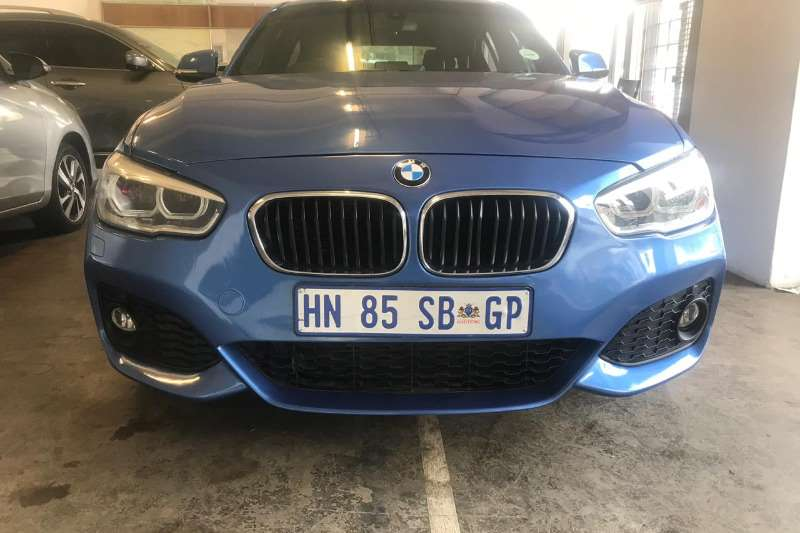 BMW 1 Series 120d 5 door M Sport auto 2015
