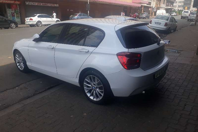 BMW 1 Series 120d 5 door M Sport sports auto 2014