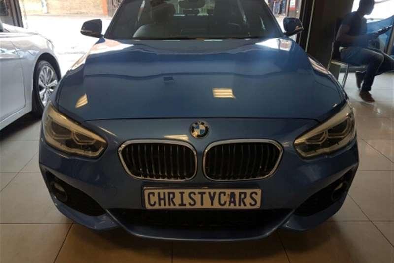 BMW 1 Series 120d 5 door M Sport steptronic 2015