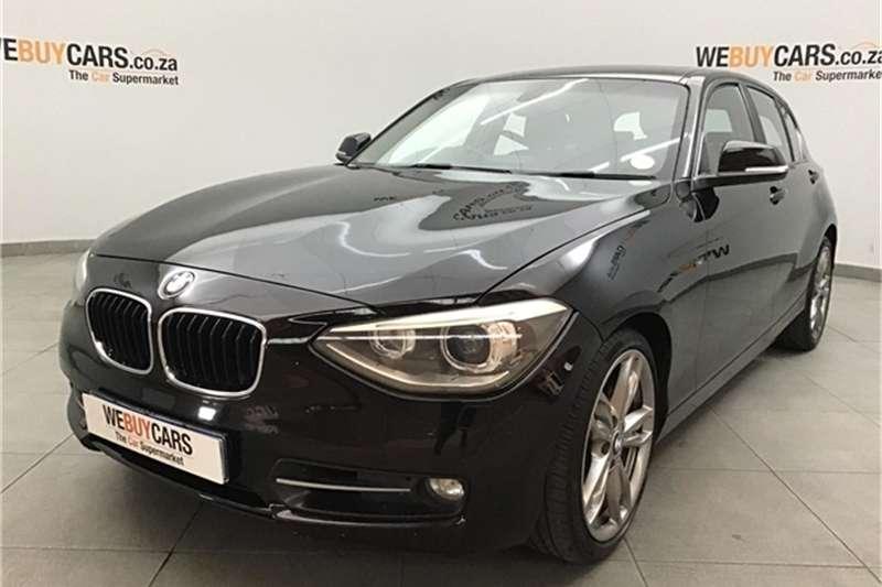 BMW 1 Series 120d 5 door Sport 2012