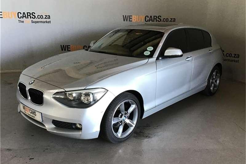 BMW 1 Series 120d 5 door Sport auto 2012