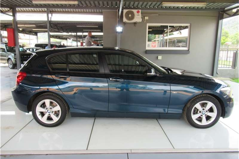 BMW 1 Series 120d 5 door Sport auto 2012