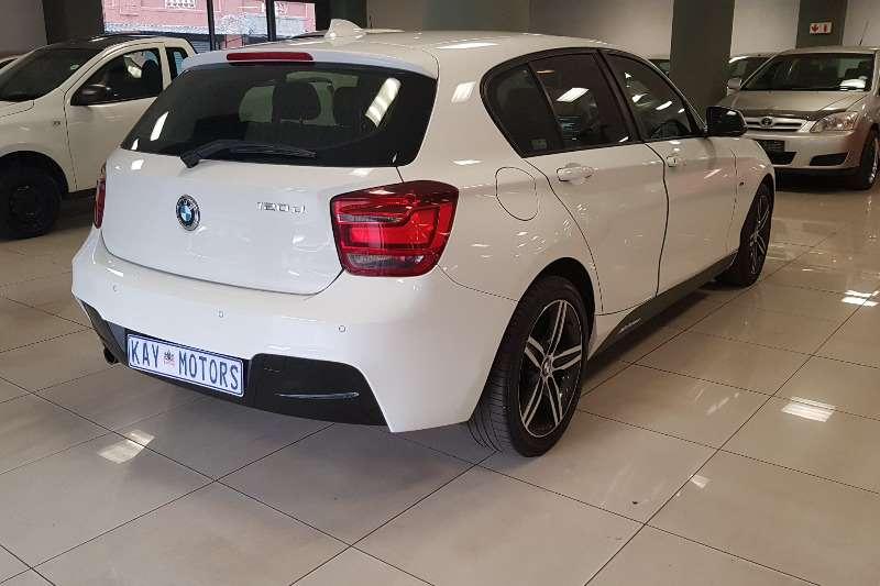 BMW 1 Series 120d 5 door Sport Line auto 2015