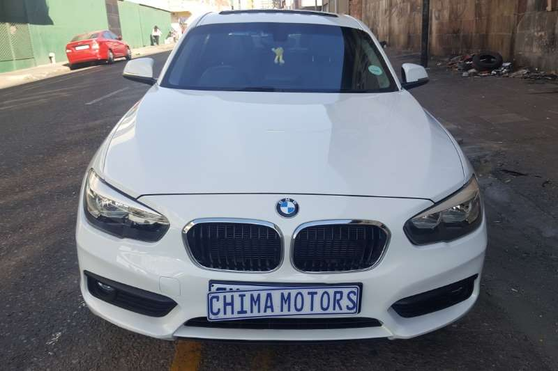 BMW 1 Series 120d 5 door Sport sports auto 2015