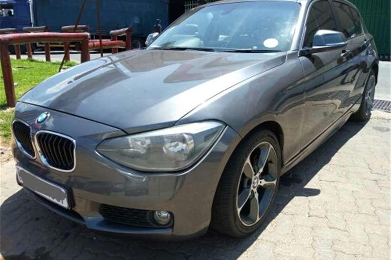 BMW 1 Series 120d 5 door steptronic 2012