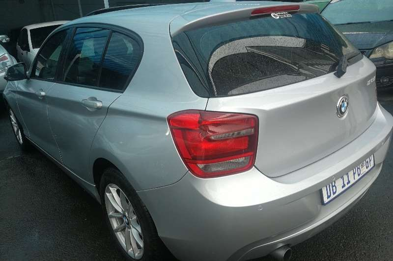 BMW 1 Series 120d 5 door steptronic 2013
