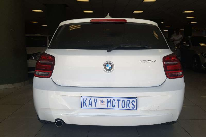 BMW 1 Series 120d 5 door Urban auto 2013